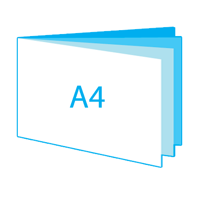A4 liggend