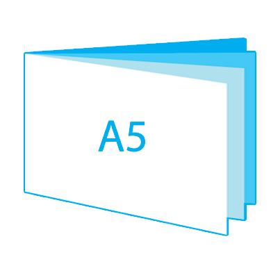 A5 liggend