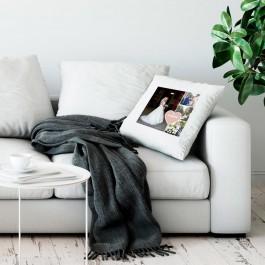 Liefdeskussen bedrukken - Wit - 50x60cm