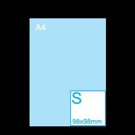 Sticker Vierkant S