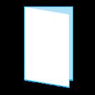 Folder A7 staand