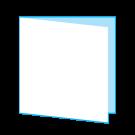 Folder Enkel Vierkant