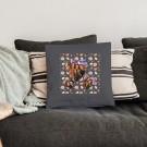 Liefdeskussen bedrukken - Donkergrijs - 40x40cm - Ongevuld