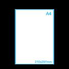 Sticker A4