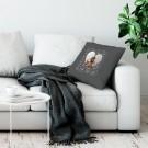 Liefdeskussen bedrukken - Donkergrijs - 50x60cm
