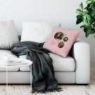 Liefdeskussen bedrukken - Roze - 50x60cm