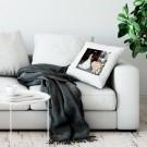 Liefdeskussen bedrukken - Wit - 50x60cm - Ongevuld