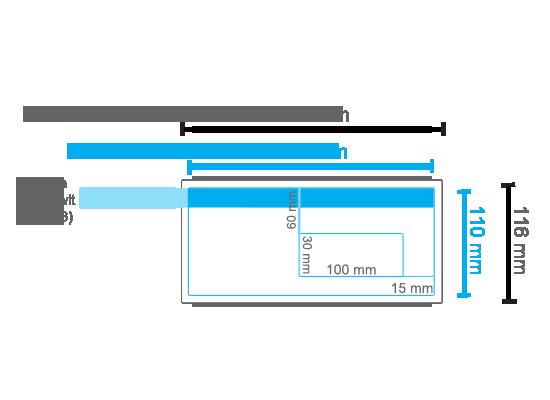 EA56 Venster Rechts Lasergeschikt Wit