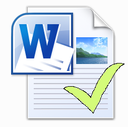 Word document drukklaar maken