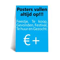 Posters drukken beschrijving