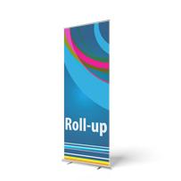 Roll-up banners sterk in prijs verlaagd
